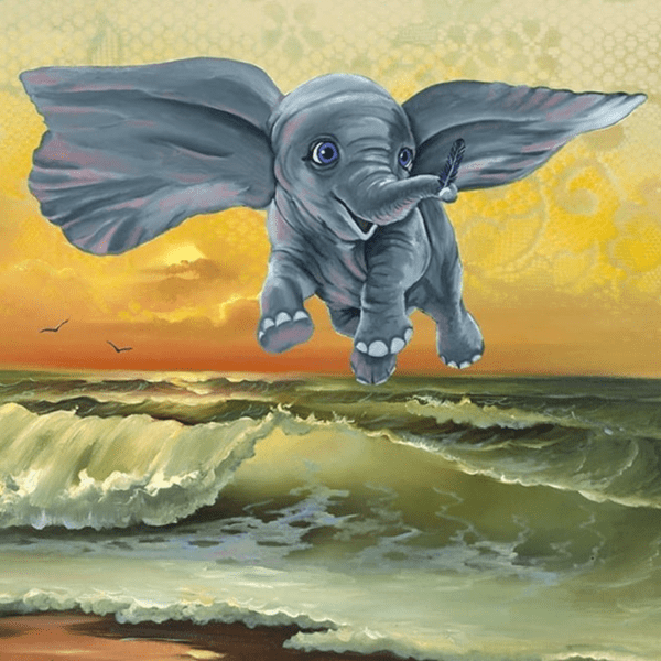 DUMBO dont just fly soar detail