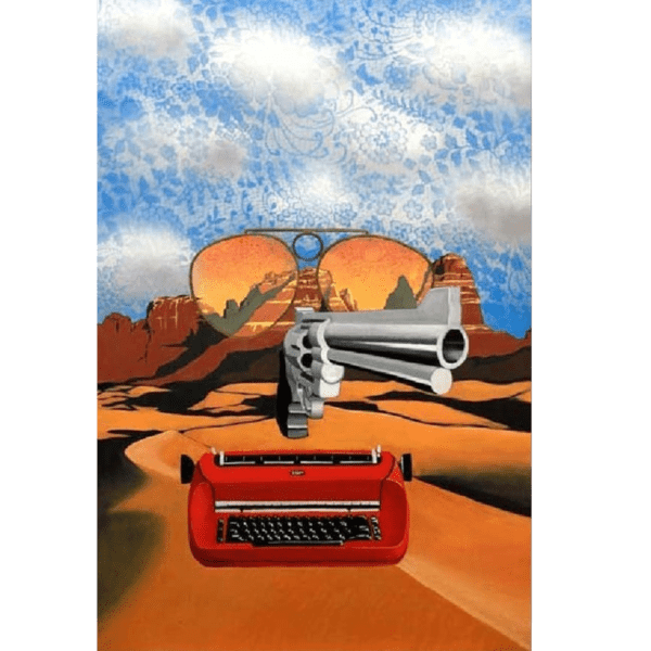 Hunter S. Thompson giclee nws