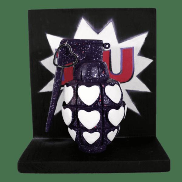 I heart U love grenade