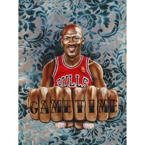 Michael Jordan game time