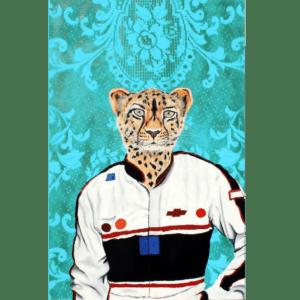 NASCAR Cheetah giclee nws