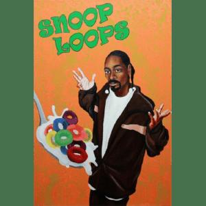 Snoop Loops giclee nws