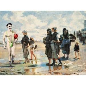 borat art,Borat painting,