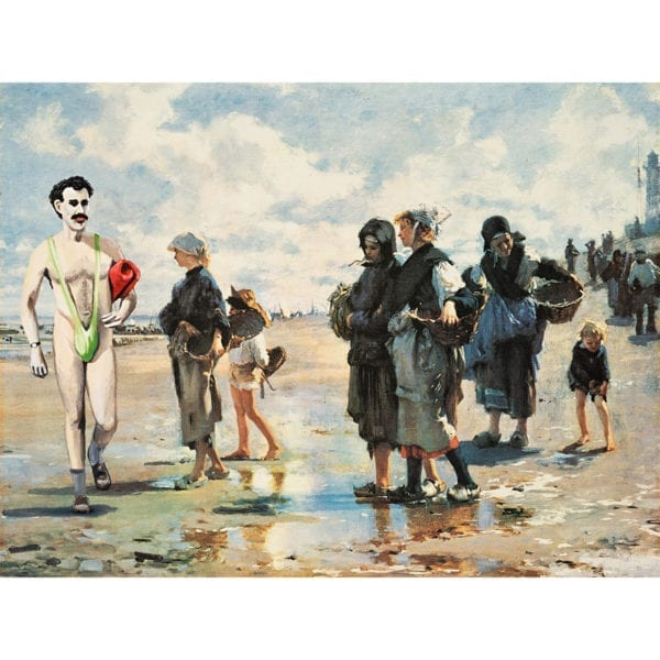 borat art,Borat painting,