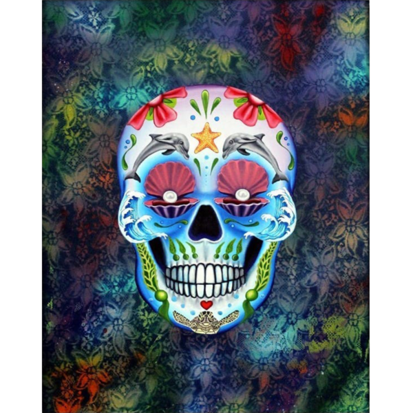 day of the dead ocean giclee nws