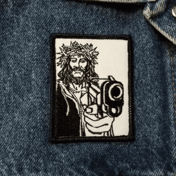 gangsta jesus patch