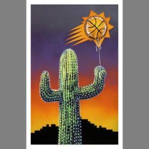 phoenix suns guilty pleasures art print