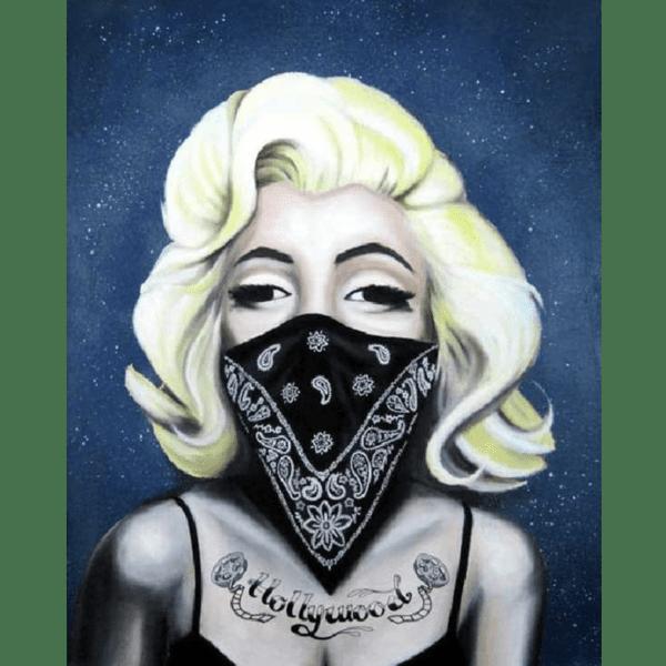 hollywood Marilyn Monroe giclee nws