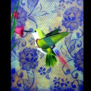 humming bird jetpack giclee nws