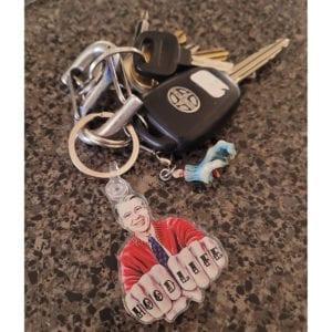 mr. rogers keychain