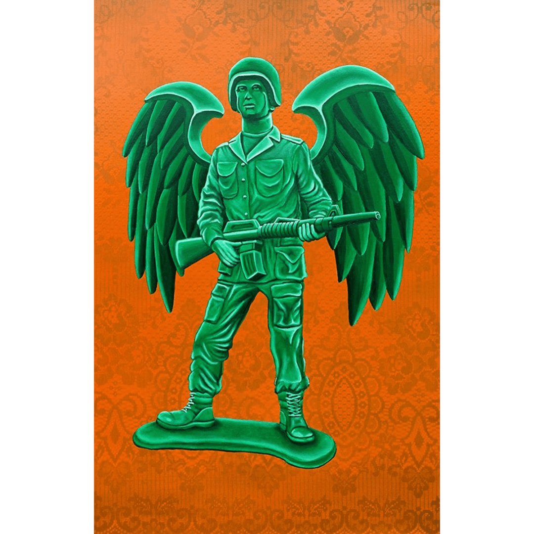 wings for warriors giclee nws