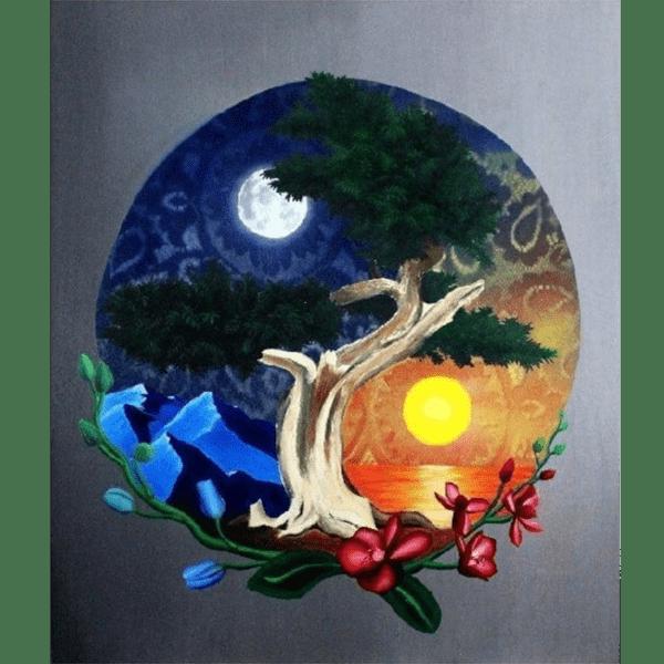 yin and yang giclee nws